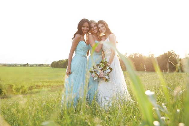 2245a05e098 Gorgeous Mix   Match Bridesmaid Dresses from Allure Bridals
