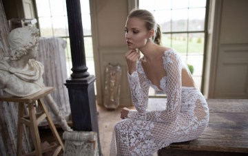 World Exclusive: Berta Wedding Dress Collection F/W 2016