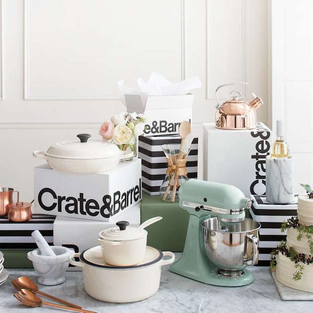 Target Wedding Registry Gift Card: Our Dream Wedding Registry With Crate And Barrel