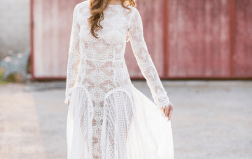 Pretty Boho Wedding Inspiration with Rich Hues