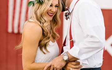 Happy 4th of July: Cool Americana Wedding Inspiration