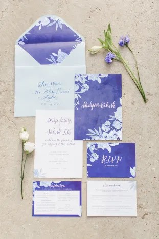 Gorgeous China Blue Wedding | Sarah Gawler | Knot & Pop | Bridal Musings Wedding Blog 22