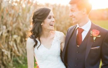 Sweet & Whimsical Woodland Barn Wedding