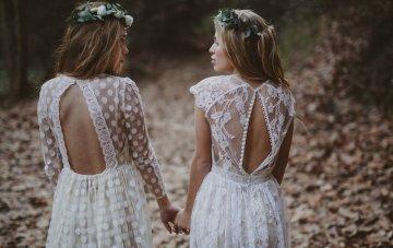 A Bohemian Bride's Dream: Immaclé Barcelona Wedding Dress Collection