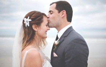 Relaxed & Atmospheric Backyard Wedding by the Beach
