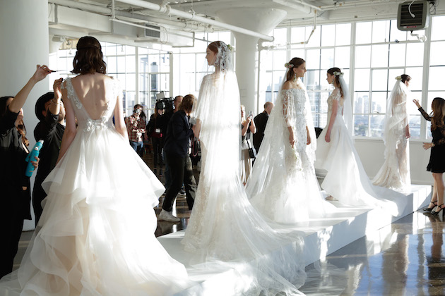 Best of Bridal Fashion Week: Marchesa Wedding Dress Collection F/W 2017