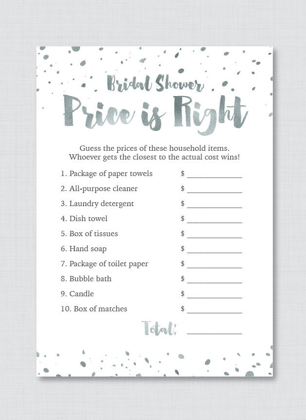 photo regarding Free Printable Bachelorette Party Games titled Bridal Shower Decorations Do it yourself Printable Flisol House