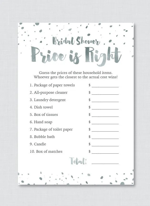 How Well Do You Know This Couple? Printable PDF Download Bridal Shower Party Game