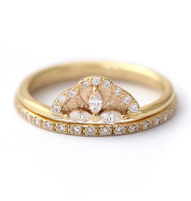 10 Unique & Alternative Engagement Rings