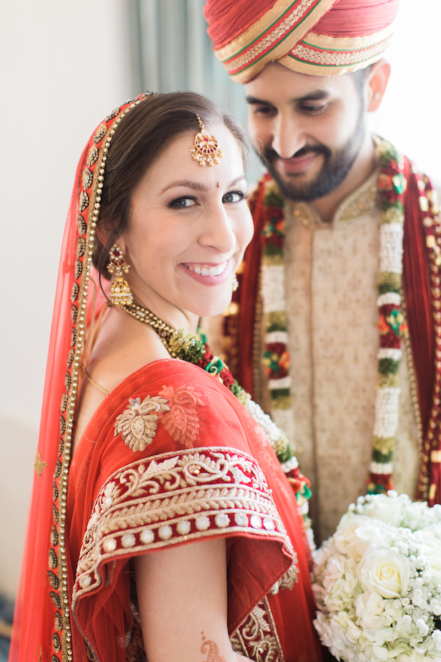 Beautiful Multicultural Wedding With A Hindu And Catholic Ceremony