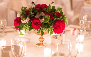 Elegant Christmas Wedding with Chic Timeless Style