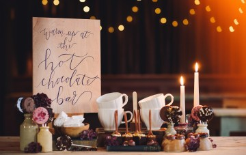 Cosy Hygge Wedding Inspiration (& a Christmas Message)