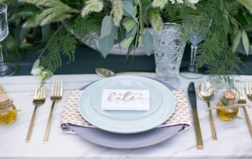 Castle Wedding Inspiration with Luxe Festive Vibes