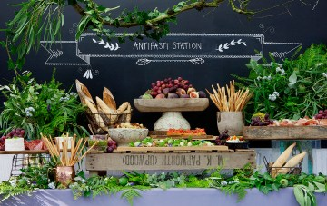 Food Station Ideas for your Wedding