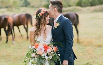 Super Stylish Barn Wedding Film