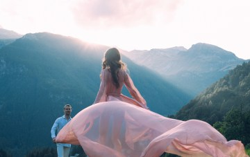 Gorgeous Lake Como Wedding with Epic Fashion-Style Photography