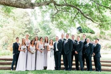 Preppy & Patriotic Wedding by Jamie Clayton and Fete Nashville 25