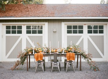 Rustic Fall Wedding Inspiration by Sylvia Gil Photography and Kate Siegel 10