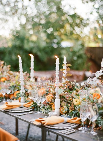 Rustic Fall Wedding Inspiration by Sylvia Gil Photography and Kate Siegel 16