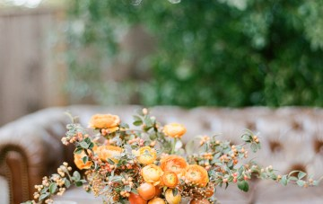 Rustic Fall Wedding Inspiration by Sylvia Gil Photography and Kate Siegel 38
