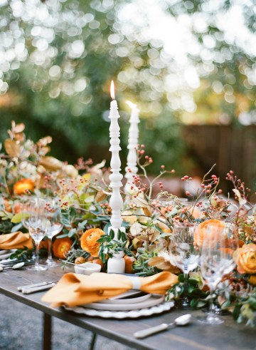 Rustic Fall Wedding Inspiration by Sylvia Gil Photography and Kate Siegel 42