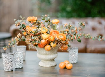 Rustic Fall Wedding Inspiration by Sylvia Gil Photography and Kate Siegel 9