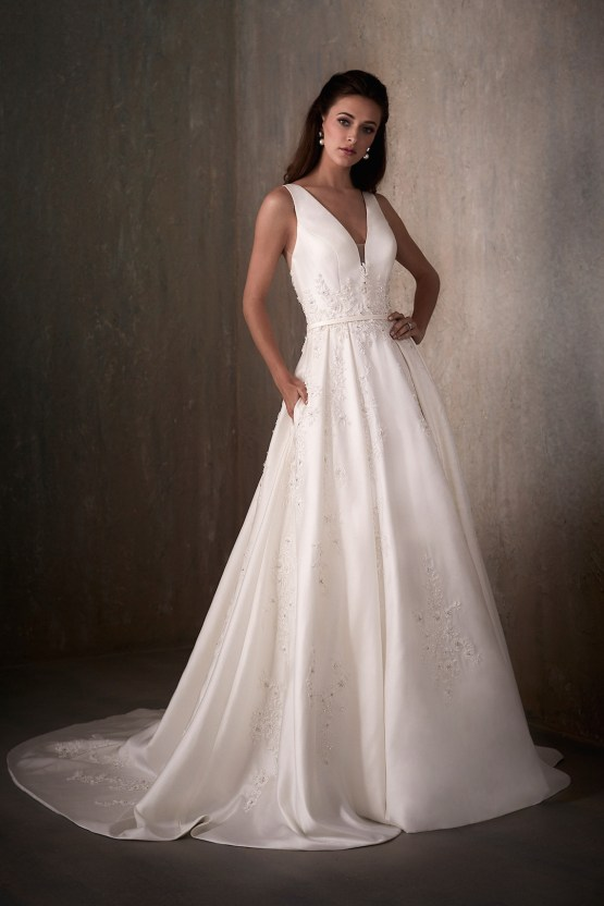 Adrianna Papell Platinum Wedding Dress Collection