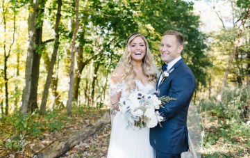 Free-Spirited & Fun, Rustic Fall Wedding