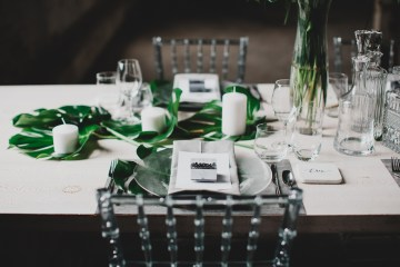 Moody & Modern Warehouse Wedding Inspiration by Jonathan Kuhn Photography 18