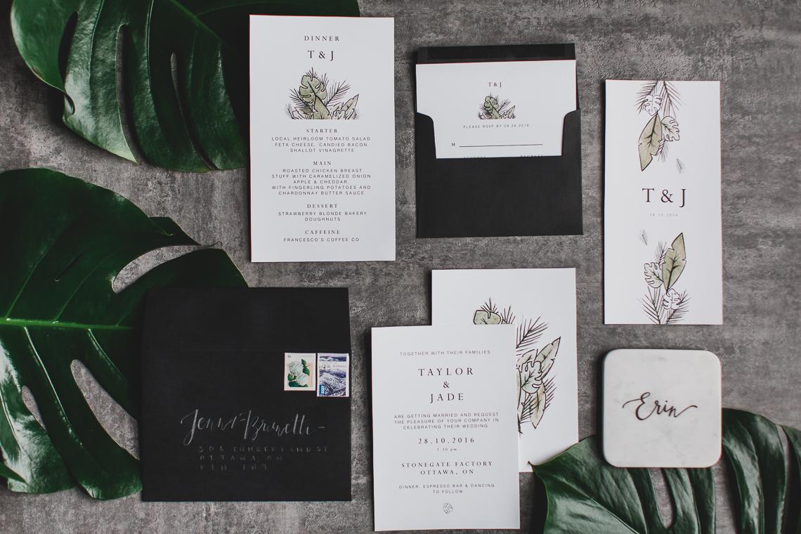 Moody & Modern Warehouse Wedding Inspiration by Jonathan Kuhn Photography 39