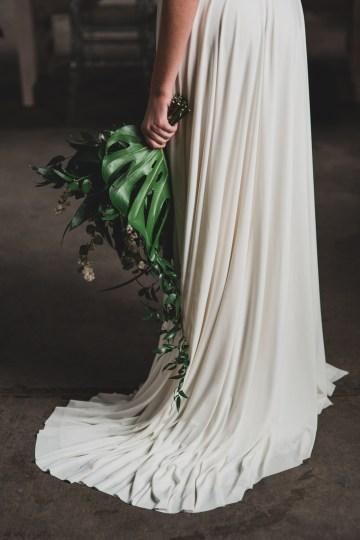 Moody & Modern Warehouse Wedding Inspiration by Jonathan Kuhn Photography 8