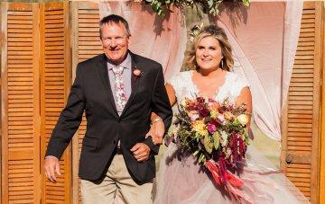 Romantic Jewel-Toned Wedding by Sara Lynn Photography 11