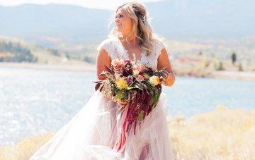 Romantic Jewel-Toned Wedding by Sara Lynn Photography 34