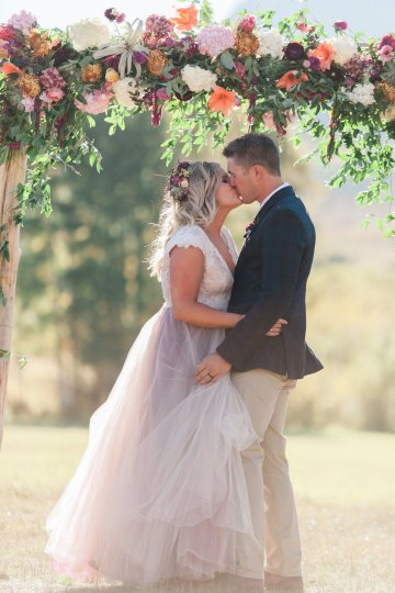 Romantic Jewel-Toned Wedding by Sara Lynn Photography 44