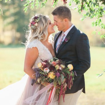 Romantic Jewel-Toned Wedding by Sara Lynn Photography 46
