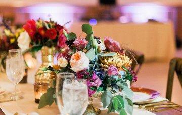 Romantic Jewel-Toned Wedding by Sara Lynn Photography 50