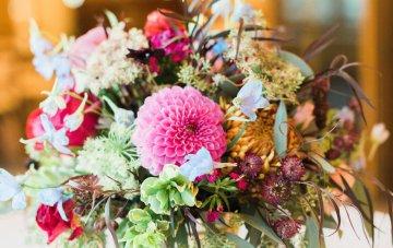 Romantic Jewel-Toned Wedding by Sara Lynn Photography 59