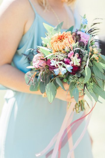 Romantic Jewel-Toned Wedding by Sara Lynn Photography 8