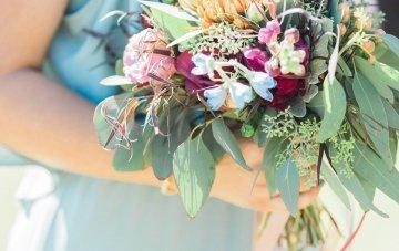 Romantic Jewel-Toned Wedding by Sara Lynn Photography 8