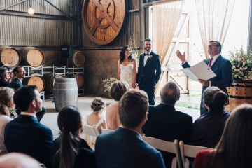 Stylish Barn Wedding by The White Tree Photography 11