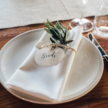 Stylish Barn Wedding by The White Tree Photography 5