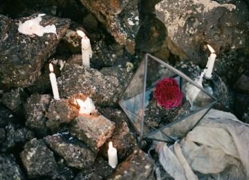 Volcanic Wedding Inspiration by Miesh Photography 61