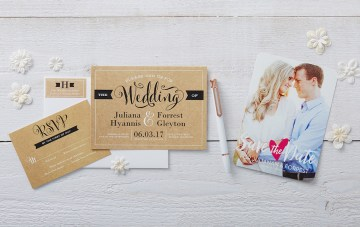 Gorgeous, Custom Wedding Stationery (On a Budget!)