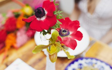 Cool Fiesta Wedding Inspiration by Claire Eliza Photography and High Violet Flowers 42