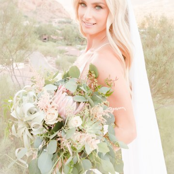 Gorgeous Desert Wedding by Malone Sinclaire Photography 38