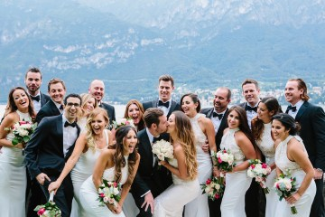 Gorgeous Lake Como Wedding by Studio 1208 75