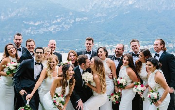 Romantic & Raucous Lake Como Wedding Film
