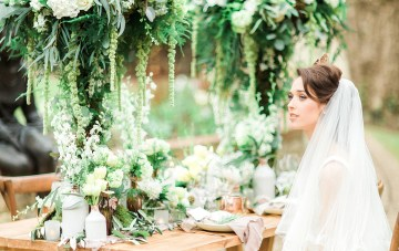 Luxurious & Romantic Greenery Wedding Inspiration