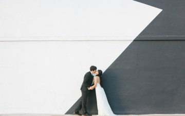 Cool LA Wedding Film (with the Sweetest Vows!)