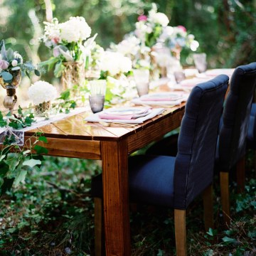 Woodland Wedding Inspiration by Molly Lichten Photography and Jamie Leigh Events 28